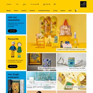Official online shop - Van Gogh Museum Shop - Van Gogh Museum shop