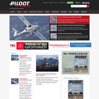 Piloot en Vliegtuig - al 27,9 jaar het magazine voor luchtvaartnieuws