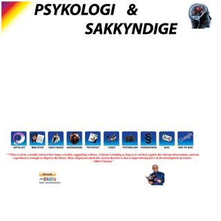 Psykologi, narsissisme,psykopati og sakkyndige