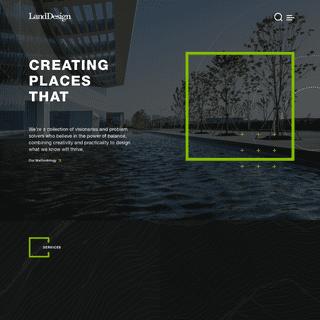 LandDesign - Landscape Architecture - Master Planning