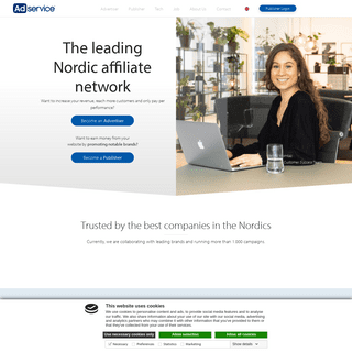 Adservice – The leading nordic affiliate network