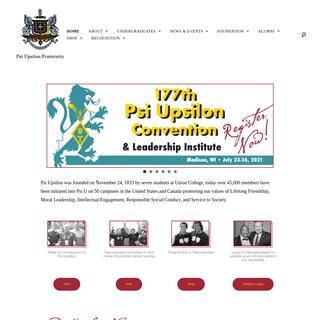 Psi Upsilon Fraternity