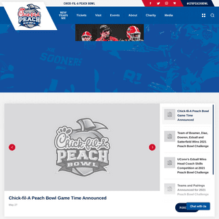 Peach Bowl - Official Athletics Website