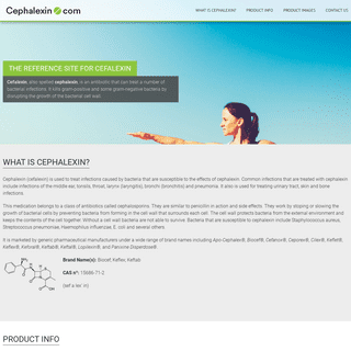 Cefalexin.com - The official site for Cefalexin information
