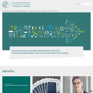 Startseite - Max-Planck-Institut für ausländisches und internationales Privatrecht