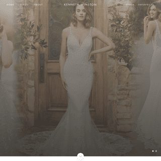 Kenneth Winston - Designer Wedding Dresses - Designed in California