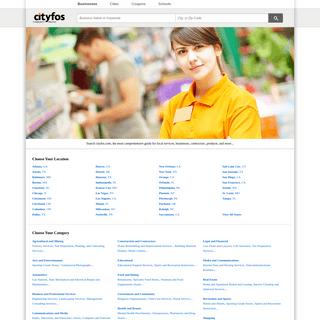 cityfos.com - Local Business Search