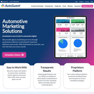 Automotive Marketing Solutions for Car Dealerships - AutoSweet