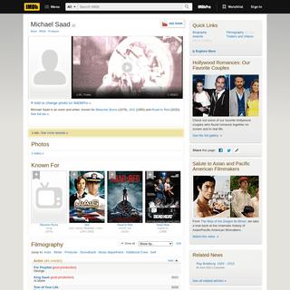 Michael Saad - IMDb