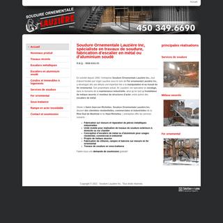 Soudure Lauzière - Travaux de soudure, escalier en métal, St-Jean-sur-Richelieu - Rive-Sud