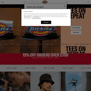 Dickies Streetwear & Skate Clothing - Dickies Life UK