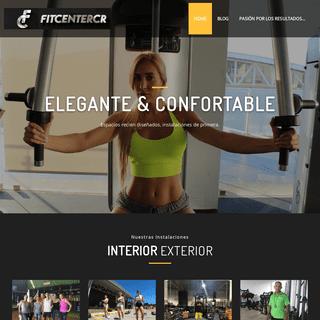 Fit Center CR – Tu Gym en CONCASAS