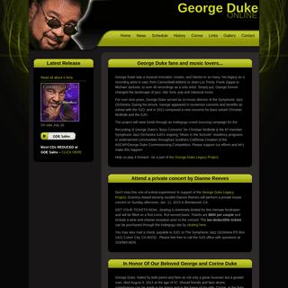 George Duke -- Online