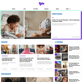 Tyla - The Home Of Women`s News & Entertainment