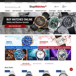 Best Online Watch Store – Authentic Luxury Watches at ShopWatches.ca