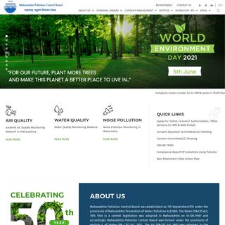 MPCB Home Page - Maharashtra Pollution Control Board