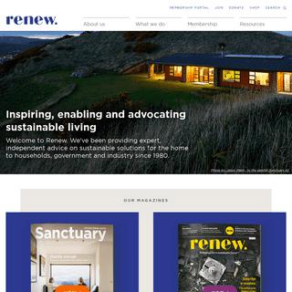 Renew - Leading in Sustainability