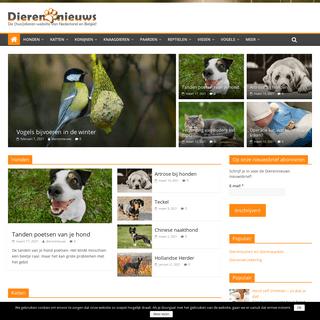 Dierennieuws.nl - de (huis)dierensite van Nederland en België!