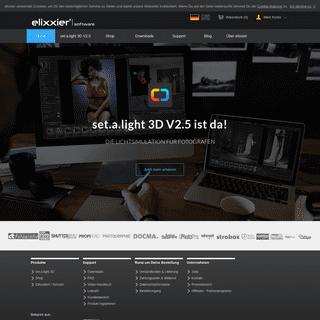 elixxier Software - Die Fotostudio Simulation für perfekte Lichtsetups und tolle Fotos