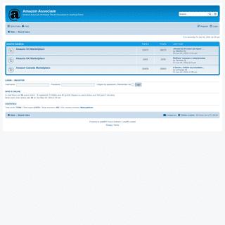 Amazon Associate - Index page