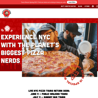 New York City Guided Pizza Tours and Online Classes - Scott`s Pizza Tours