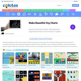 COKITOS - Juegos Educativos Online para Niños y Adultos
