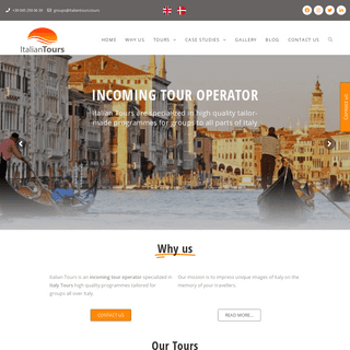 Incoming Tour Operator - Italy Tours for groups - Italian Tours