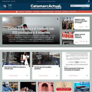 Catamarca Actual - Primer Diario Digital de la Provincia