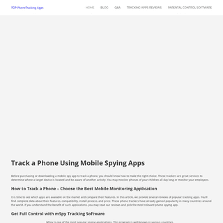 Track a Phone Using Mobile Tracking Apps - How To Do It Easily!