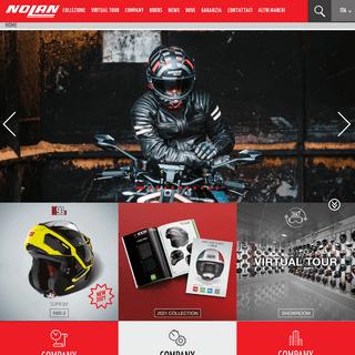 Caschi Moto, Scooter, Motard, Enduro 100- Made in Italy- NolanGroup