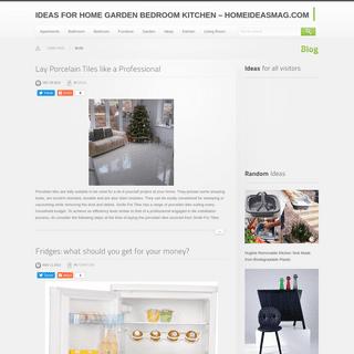Ideas for Home Garden Bedroom Kitchen - HomeIdeasMag.com