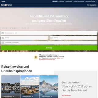 Ferienhäuser und Ferienwohnungen in großer Auswahl - Ferienhaus privat - dansommer.de