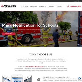Emergency Notification and Alert System - SwiftReach