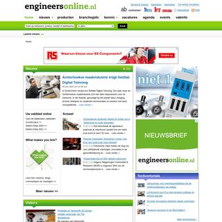 Het online platform voor engineers - Engineersonline.nl