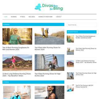Divas Run for Bling - Running and Fitness Blog - Fit and Healthy Lifestyle