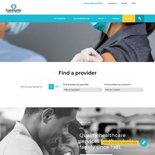 CHN - Community Healthcare Network