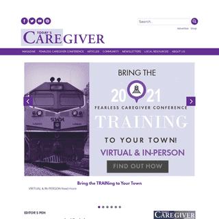 Today`s Caregiver - Caregiver.com