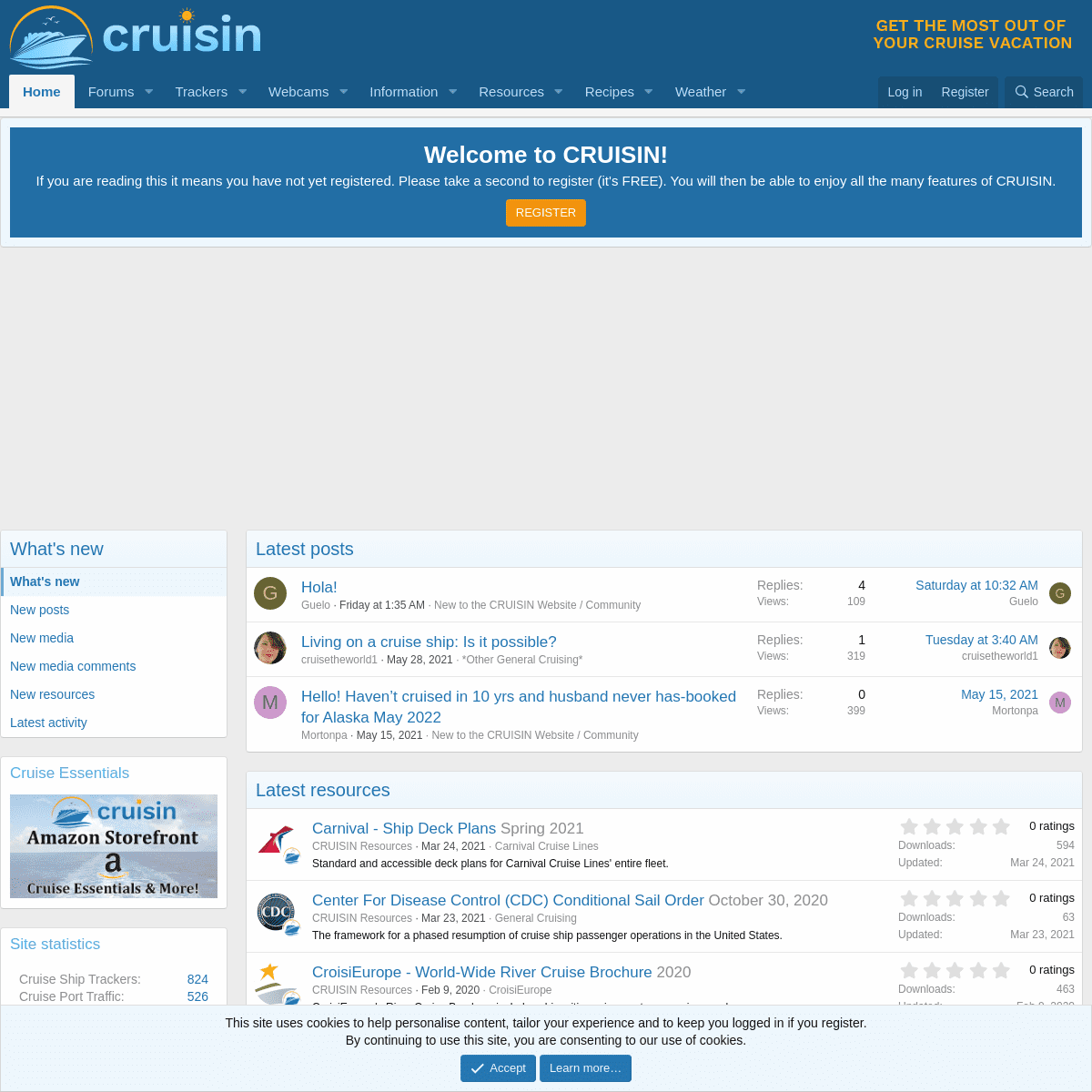CRUISIN - Get The Most Out Of Your Cruise Vacation!
