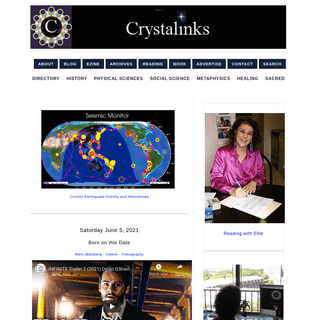 Crystalinks Home Page