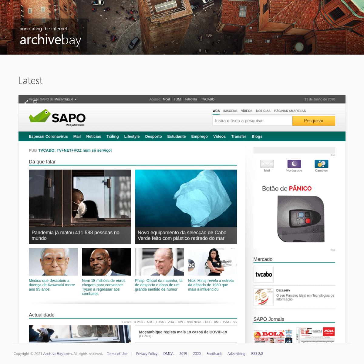 SAPO - Moçambique Online!