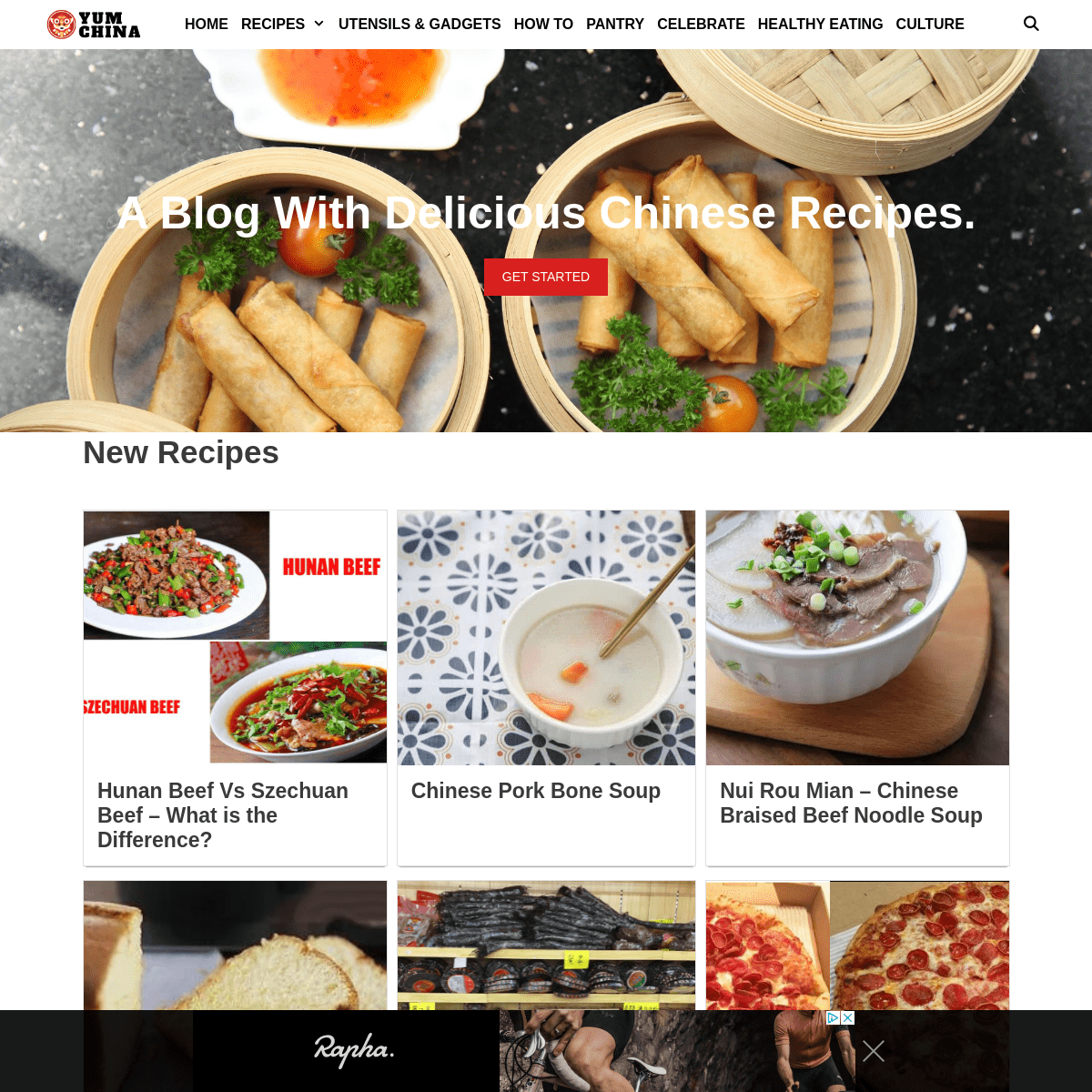 A Blog With Delicious Chinese Recipes - Yum Of China