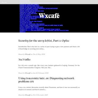 Wxcafé