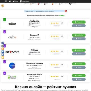 Казино рейтинг, игровые автоматы, бонусы — КазиноСлотсБест