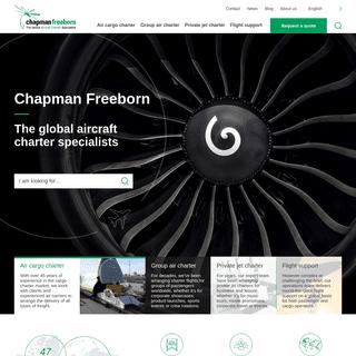 Global Aircraft Charter Specialists - Chapman Freeborn