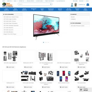 220 Volt Appliances - 240 Volt Multisystem Electronics - SamStores