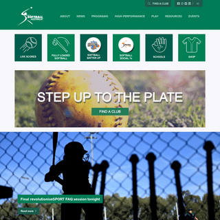 Home - Softball Australia