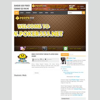 Bandar Judi Poker Domino QQ Online