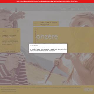 Bienvenue à Anzère -- Anzère -- Valais -- Suisse