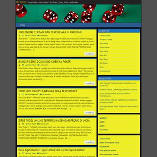 INI TOGEL - Togel Online - Poker Online - Slot Online - Poker Online - Judi Online