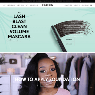 Makeup and Beauty Products, Makeup Tips, Try On Looks and More - Covergirl Canada®